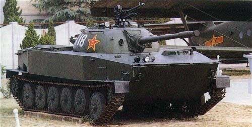 Плавающий танк «Тип 63»
