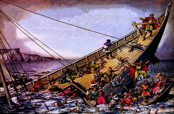 «Белый корабль» терпит крушение. <br>